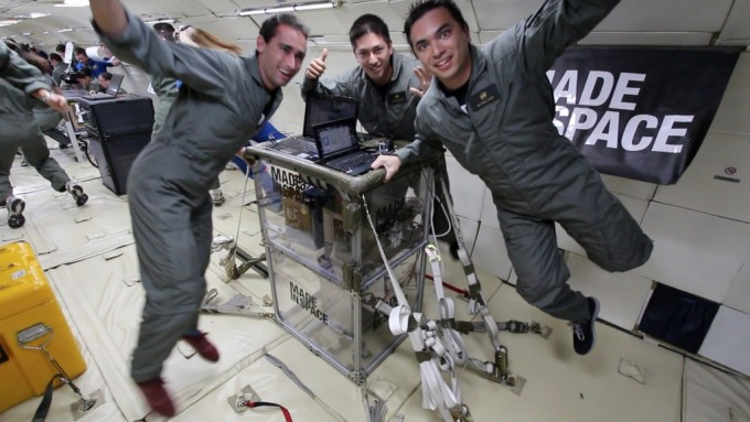 3D printer on board  ISS