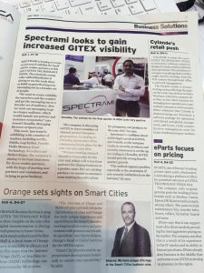 Article sur le Gitex news