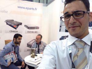 Mustafa on eParts stand