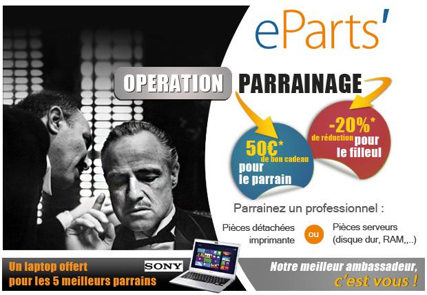Operation parrainage eParts