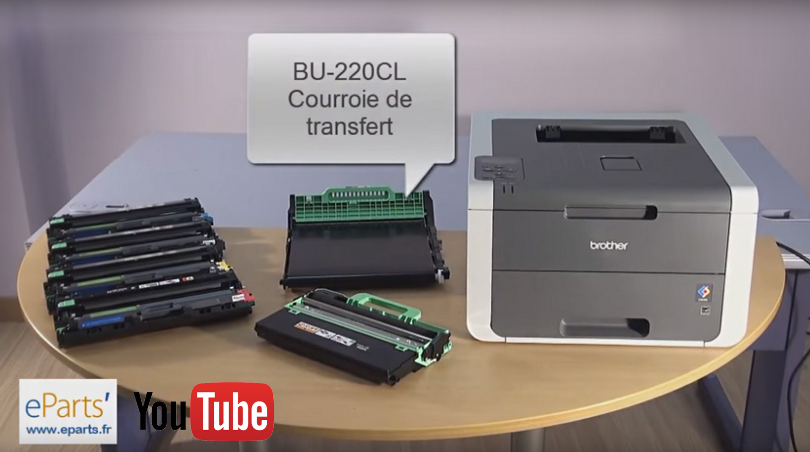 video de maintenance HL-3140CW