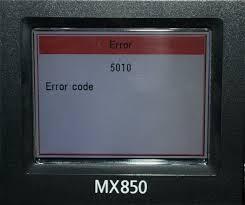 code erreur Canon
