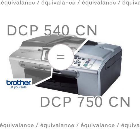 equivalance numero d'imprimante